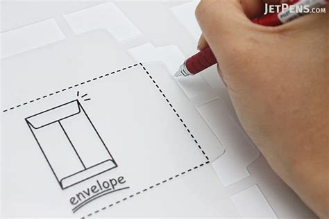 Handmade Envelopes Template - kuretake handmade envelope template japanese version
