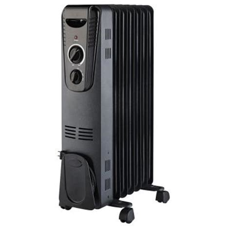 1500 watt electric filled radiant portable heater