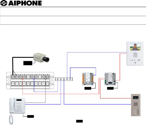 cctv security wiring diagram get free image about