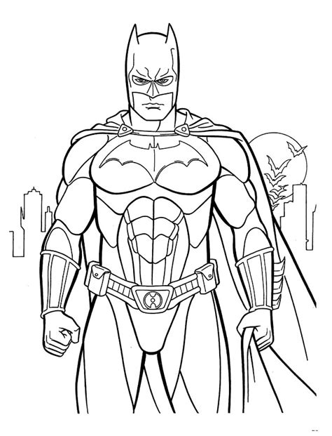 coloring book rating 7 batman coloring pages