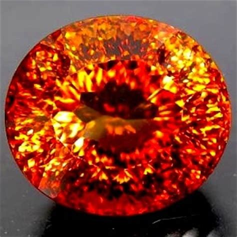 Imperial Topaz 7 65ct topaz 38 51ct imperial topaz g i s a certified