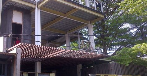 Konstruksi Ruang Baja struktur baja untuk rumah tinggal