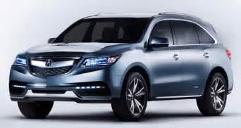 Acura And Honda 2017 Acura Mdx Performance Fuel Economy Price 2017