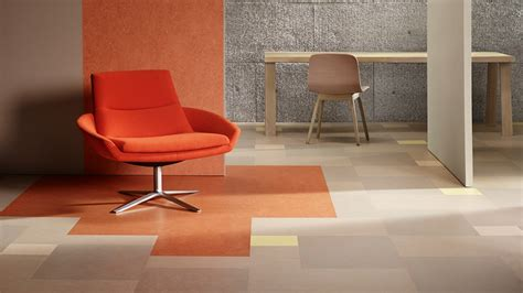 Melonium Floor Covering by Marmoleum Modular Tiles Forbo Flooring Systems