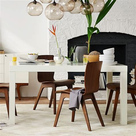 parsons dining room table parsons dining table rectangle west elm