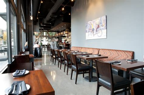 contemporary banquette seating monsoon restaurant kathleen jennison archinect