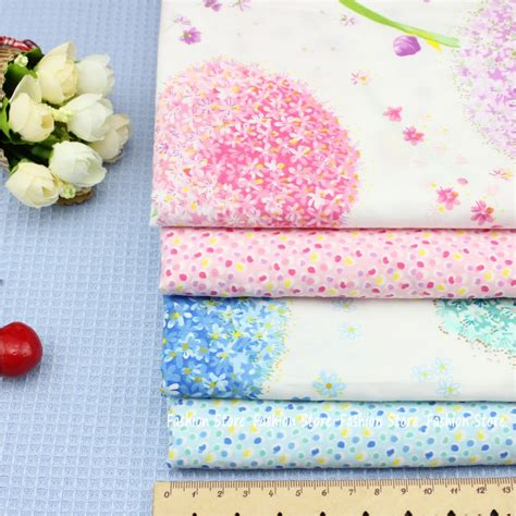 fabric for sheets aliexpress com buy dandelion series cloth fabric 4 pcs