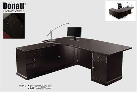 meja donati melamic series distributor furniture kantor
