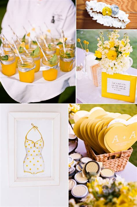 light up your wedding with lemon yellow onewed