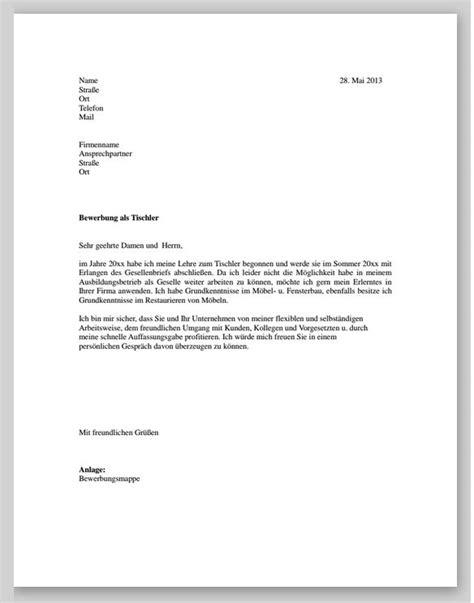 Muster Leihvertrag Schweiz Bewerbung F 252 R Einen Tischler Muster