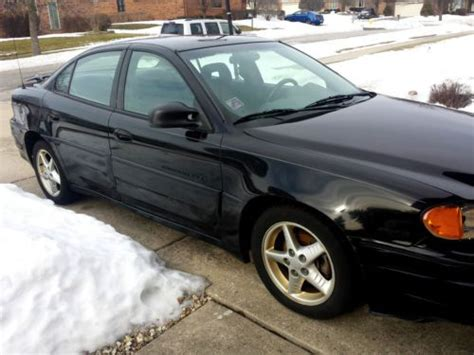 how to fix cars 2001 pontiac grand am electronic toll collection sell used 2001 pontiac grand am gt sedan 4 door 3 4l 80 844 miles in palos park illinois