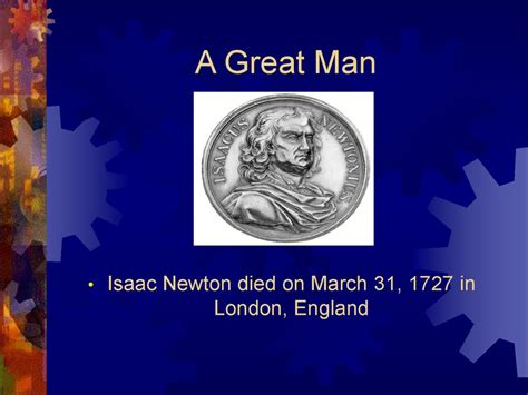 isaac newton biography powerpoint sir isaac newton life and accomplishments online