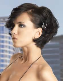 shaped and neck hairstyles dressy short hairstyle pulled into shape close to the neck