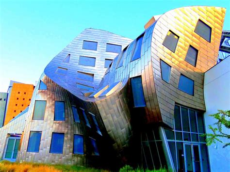 frank gehry 7 photograph by randall weidner
