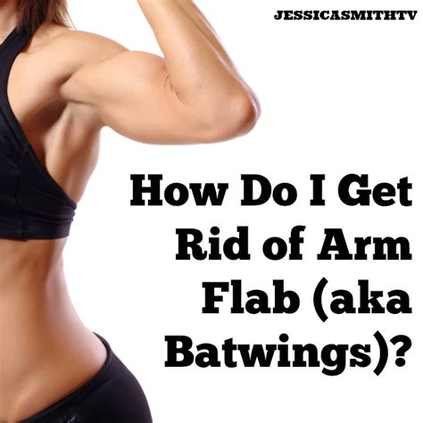 arm how do i get rid of batwings smith tv