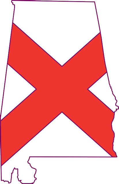 Us State Flag Outlines by Alabama State Outline Clip Quotes