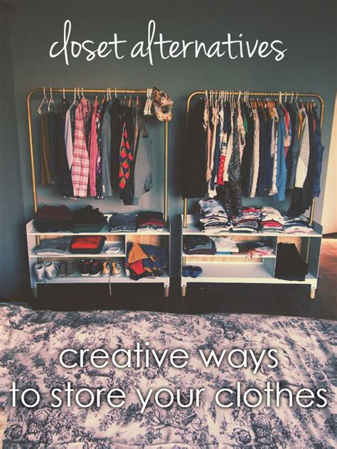 closet alternatives for hanging clothes no closet this post offers alternative ways to store and