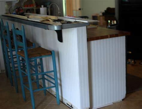 diy kitchen island bar diy raise the bar cabinet or island kitchen breakfast