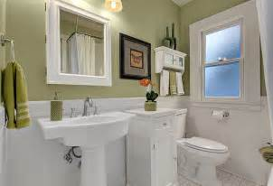 Bathroom Ideas Colors For Small Bathrooms Staged Craftsman Home In Green Lake Neighborhood