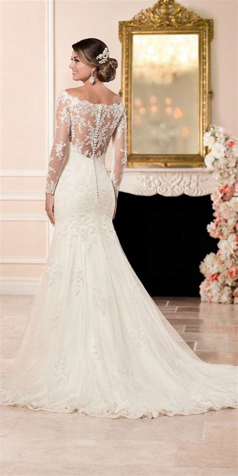 a picture of cortanas hairstyle for the back stella york fall 2016 wedding dresses you ll love long
