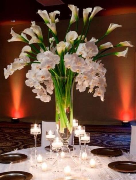 1006 Best Fabulous Centerpieces Images On Pinterest Calla Lilies Centerpieces For Weddings