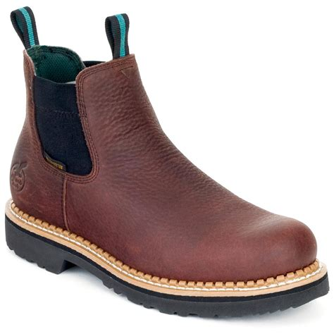 s r romeo waterproof pull on boots brown