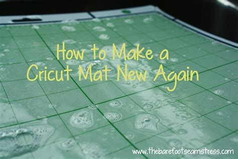 clean your cricut sticky mat paper crafts
