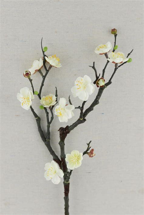 Vase Lighting Ideas Plum Blossom Branches 18in
