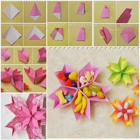 Folded Paper Craft - 11 easy paper crafts for my daily magazine