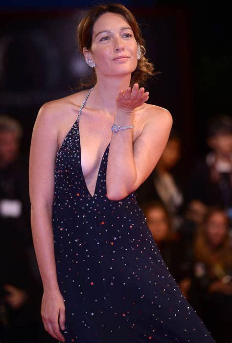 cristiana capotondi suffers nip slip at venice film fest venice film festival 2017 red carpet cristiana capotondi