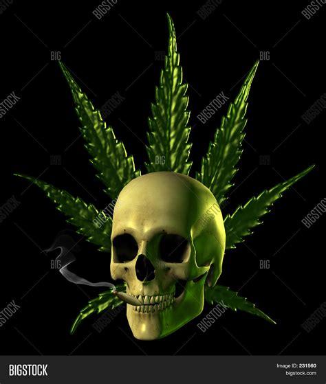 imagenes de calaveras en 3d imagen y foto calavera fumando marihuana bigstock