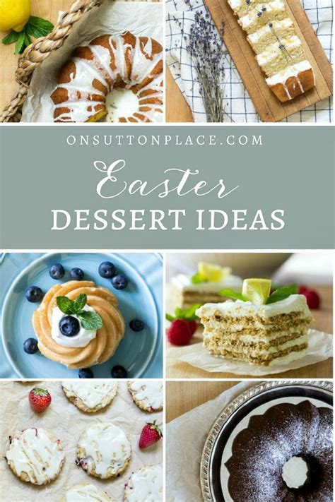 best dessert to bring to a dinner easy easter dessert ideas a recipe collection on