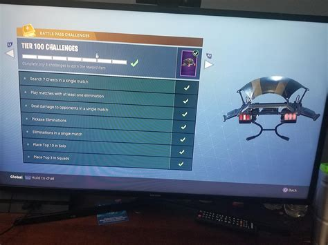 fortnite tier 100 challenges the tier 100 challenges for those who are asking those