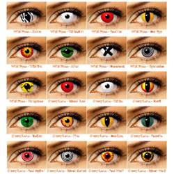 color contact lenses can change their eye colours with coloured lenses
