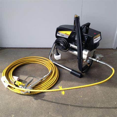 spray painter hire melbourne airless paint sprayer hire spray gun hireline