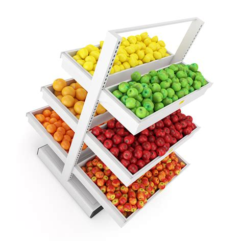 Shelf Of Fruit by Fruit Shelf 3d Model C4d Cgtrader