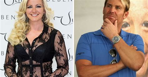 cele bitchy liz hurley shane warne never had any michelle mone and shane warne denies tryst with shane