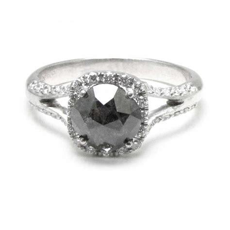 black and platinum ring