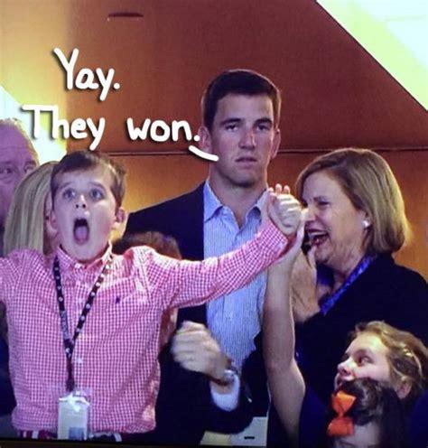 Manning Face Meme - sad eli manning is the super bowl meme that may have chris