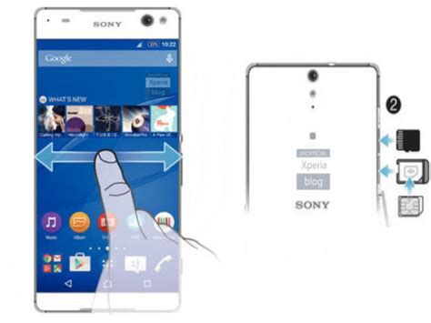 Hp Sony Xperia Lavender sony xperia c5 ultra to come with bezel free display report gizbot news