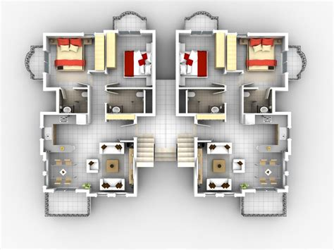 Apartment Design Plan by Foundation Dezin Amp Decor 3d Home Plans
