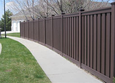 trex composite fencing gallery low maintenance fencing