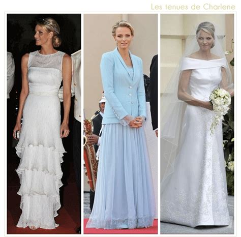 hochzeitskleid charlene von monaco 33 best images about princess charlene s civil wedding on