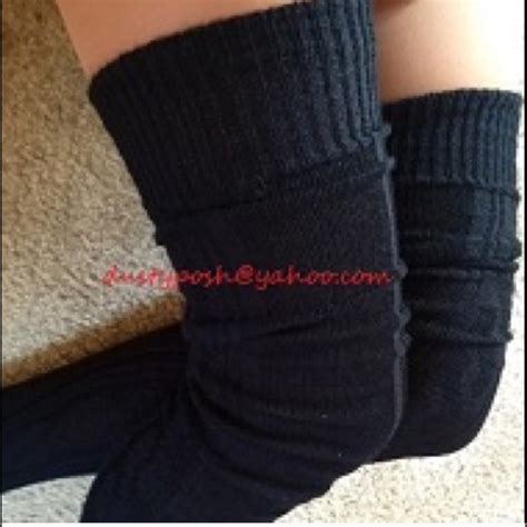 cable knit thigh high socks 26 american apparel accessories cable knit