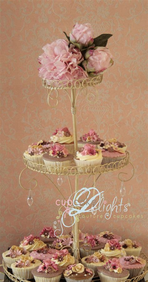 shabby chic cupcake stand by zalita on deviantart