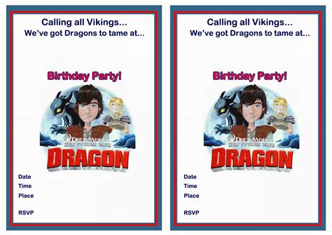 printable birthday invitations dragons how to train your dragon birthday invitations birthday