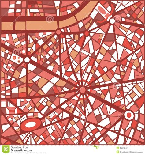 abstract map pattern vector background abstract city map stock photography