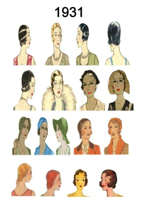 hair fashions from chosen era 195 best images about period hair on pinterest 1930s