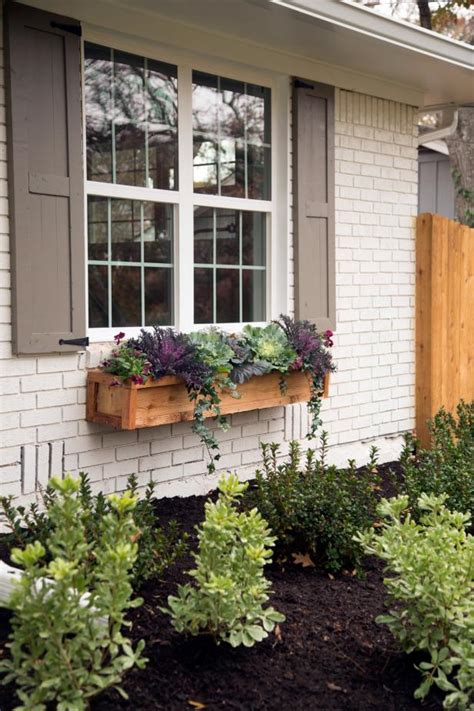 outdoor window box window box arrangement hgtv