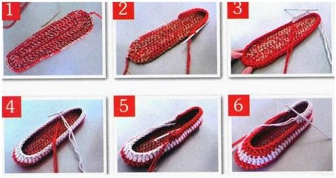 step by step crochet slippers crochet slippers quot two colors quot crochet patterns and